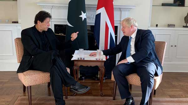 When Pakistans UN envoy called British PM Boris Johnson as Foreign Minister