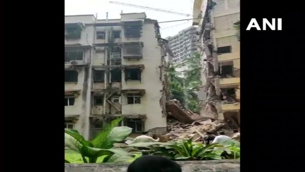 Portion of 5 storey building collapsed in Mumbai, rescue operations underway