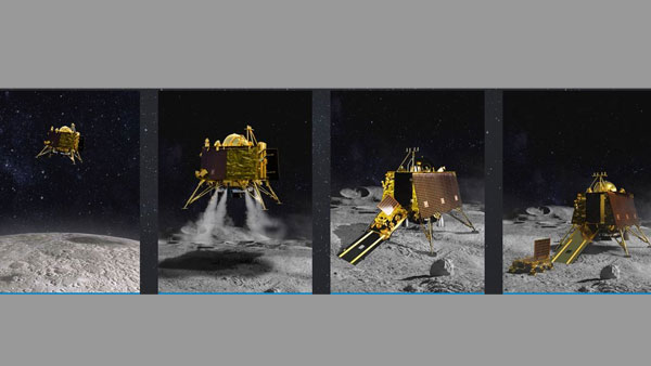 [Chandrayaan-2: ISRO loses contact with Vikram lander during descent]