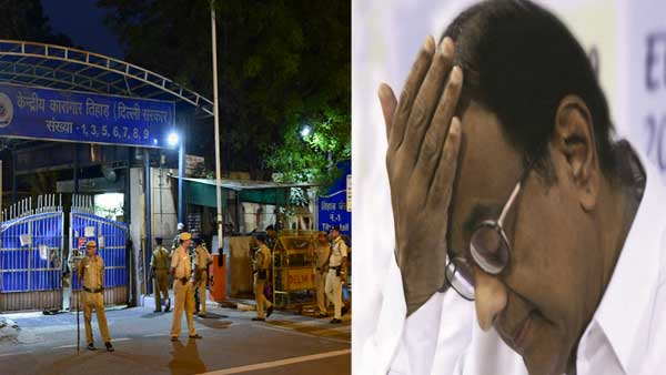 No pillow, no chair for me at Tihar, Chidambaram tells court