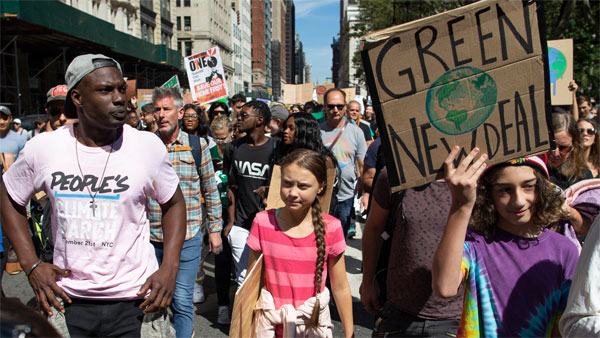 What is the Global Climate Strike movement?