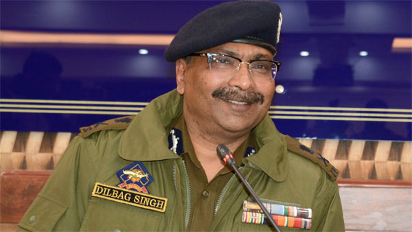 Director General of Jammu and Kashmir Police Dilbag Singh