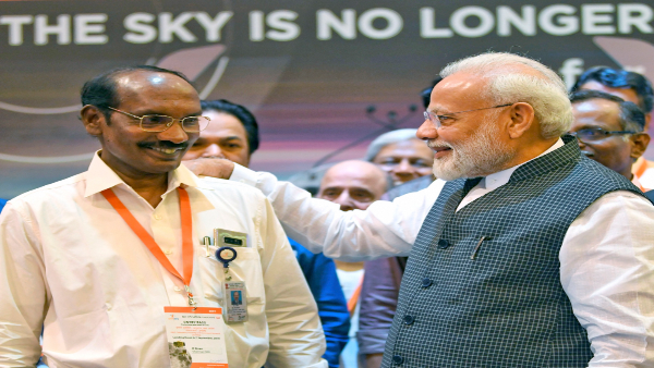 Chandrayaan 2 UPDATE: PM a source of inspiration, his speech gave us motivation, says ISRO chief - Oneindia