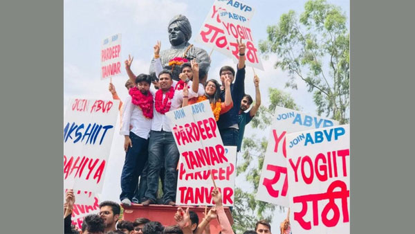 DUSU Election Result 2019: ABVP sweeps DUSU poll with 3 posts, NSUI bags secretary