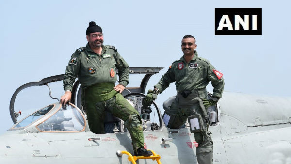 IAF chief, Wing Commander Abhinandan Varthaman fly sortie of MiG-21