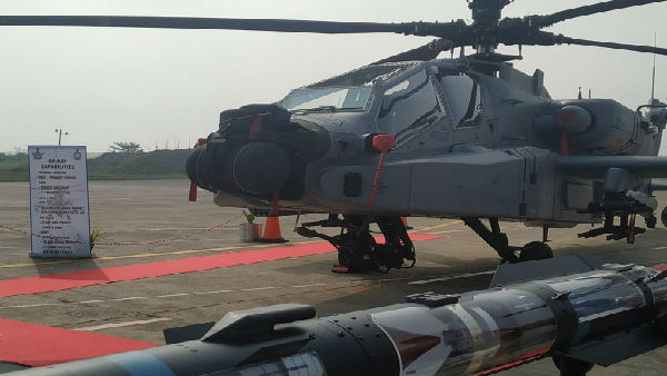 IAF gets its first fleet of 8 US-made Apache AH-64E attack helicopters