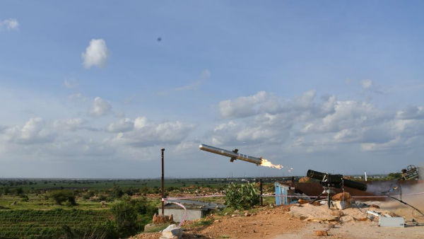 India successfully test fires Man Portable Anti-tank Guided Missile