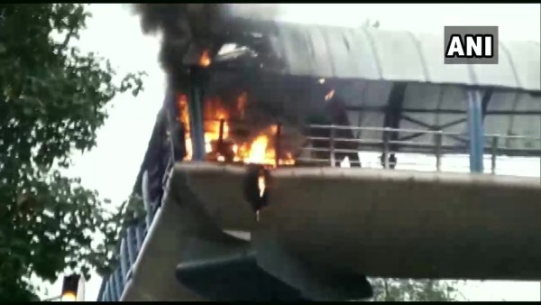Fire breaks out at Cotton Green railway station in Mumbai