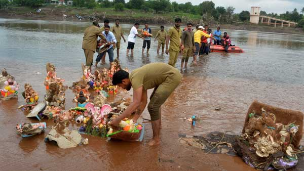 No Ganesh visarjan for over 10,000 idols in Latur
