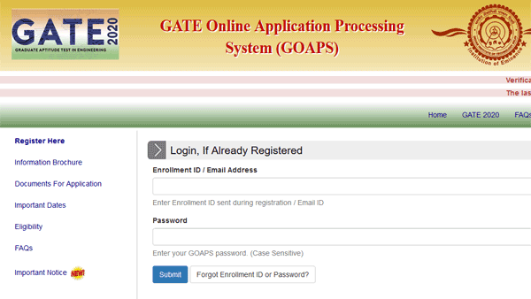GATE 2020 application date extended again: Important details on last date to apply