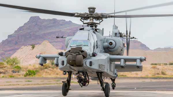 IAF gets its first fleet of 8 Apache attack choppers