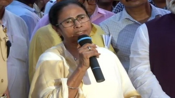 ANI Image of West Bengal Chief Minister Mamata Banerjee