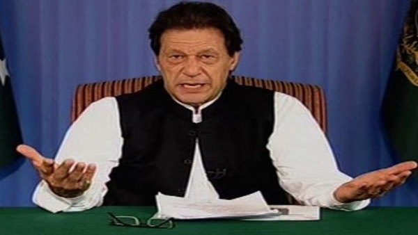 [Imran Khan once again warns of war with India over Kashmir]