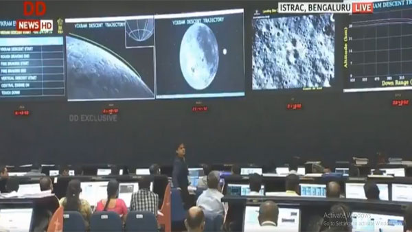 Chandrayaan 2: Normal performance was observed upto altitude of 2.1kms