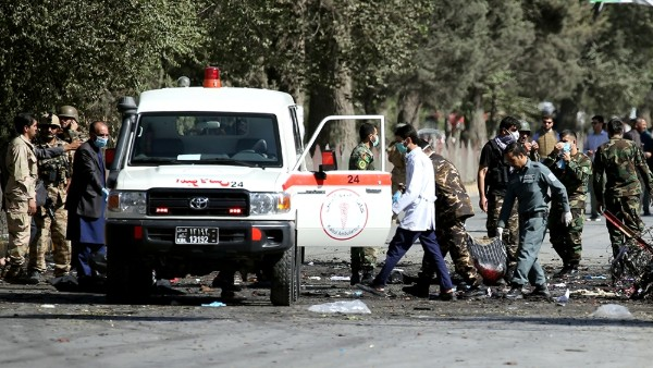 Twin Afghan blast: Death toll reaches at 48, Taliban claims the attack