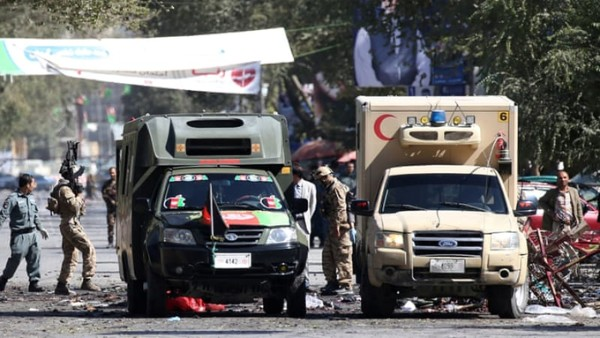 Suicide blast in Afghan mosque claims 18 lives, 50 injured