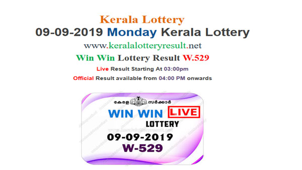 Monday Kerala Lottery Result LIVE: Win Win W 529, 1st prize Rs 65lakh