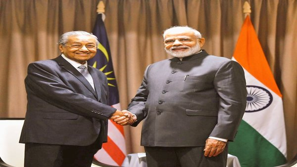 Prime Minister Narendra Modi on Thursday meet his Malaysian counterpart Mahathir bin Mohamad