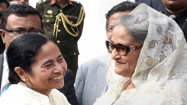 Mamata greets B'desh PM Hasina on birthday, hopes for strong Indo-Bangla ties