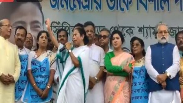 Mamata takes out anti-NRC rally today in Kolkata