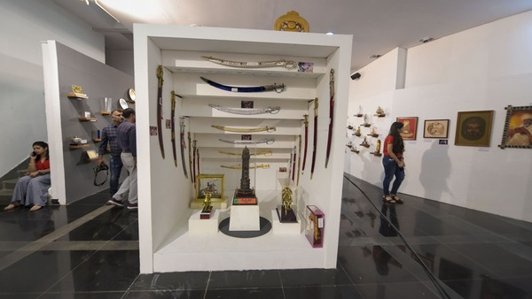An exhibition of gifts presented in the last six months to Prime Minister Narendra Modi