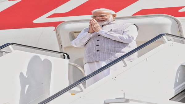 PM Modi arrives in Houston
