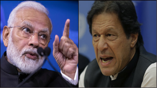 Modi speaks about 'Buddha while Pak PM threatens nuclear war