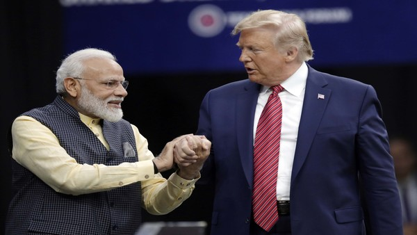Modi heaped praise on Trump