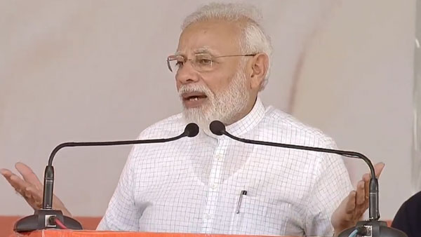 PM Modi deliver speech during 'Swachhta Hi Seva' program in Mathura