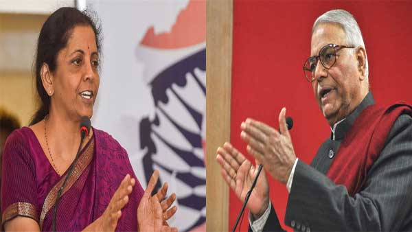 <strong>Weird! Yashwant Sinha takes on Sitharaman for Ola, Uber affecting auto sector statement</strong>