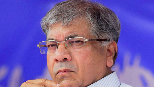 File photo of Prakash Ambedkar