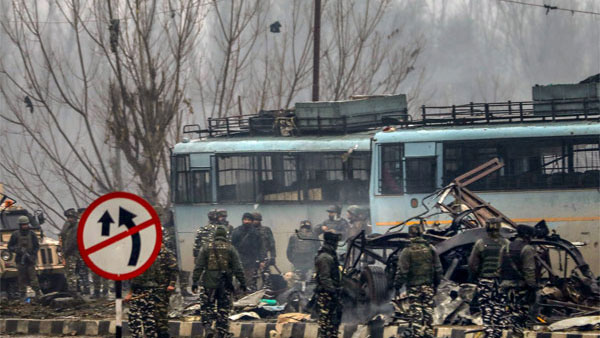 File photo of Pulwama Attack