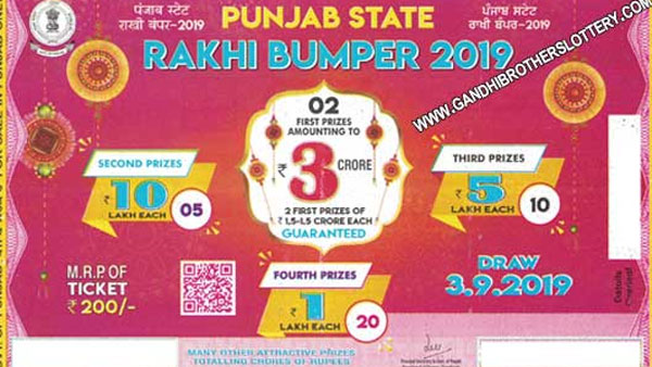 Punjab State Lottery 2019 Rakhi Bumper Lottery result: Direct link to check result, claim money