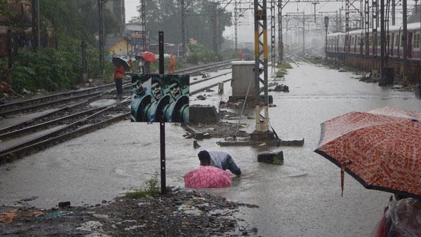 Volume of rain in Mumbai