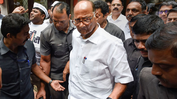 Sharad Pawar not to visit Enforcement Directorate office citing law and order situation