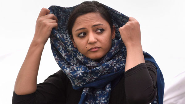 Shehla Rashid granted interim protection from arrest in sedition case