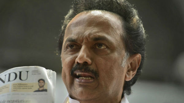 India or Hindi-a? asks Stalin