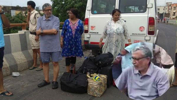 In Pics: Stranded Bihar deputy CM Sushil Modi, family rescued from home in rain-hit Patna