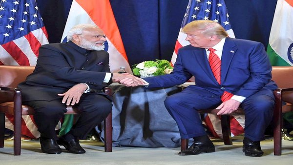Trump dwells on trade with India, sidesteps questions on Pak, terrorism
