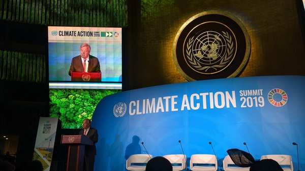 United Nations Climate Action Summit in New York (Twitter/@UN)