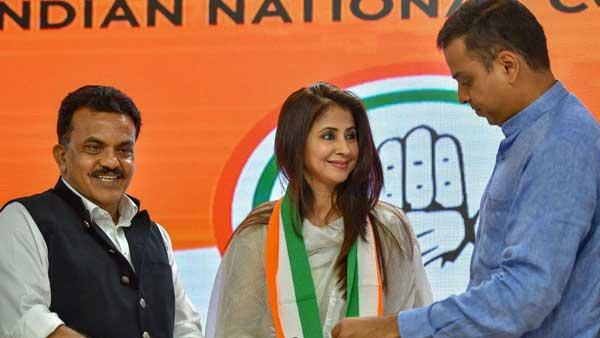 Congress star face Urmila Matondkar quits party