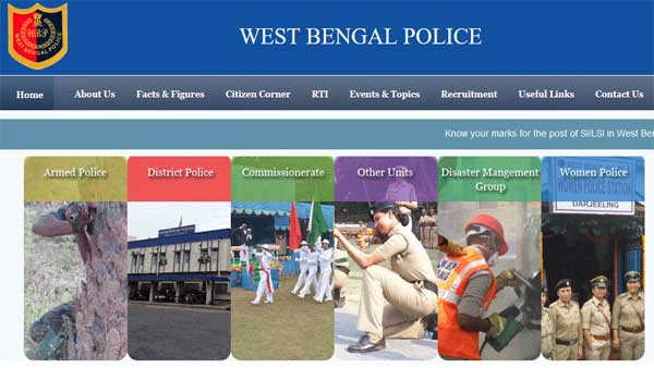 West Bengal SI Final Result 2019 declared: How to check online