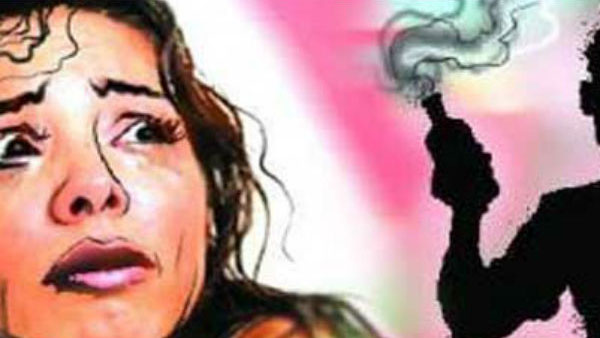 Man throws inflammable liquid on a woman for rape complaint