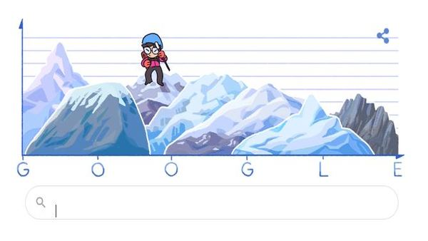 [Who is Junko Tabei to whom today's Google Doodle is dedicated]