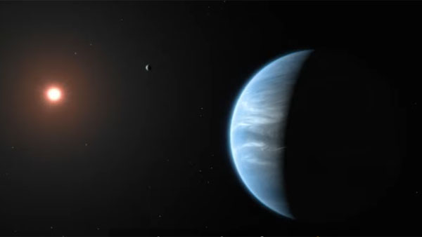 K2-18b, super-Earth planet