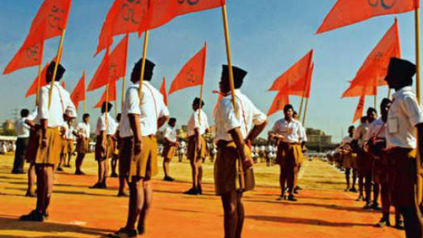 Ayodhya verdict: RSS workers perform aarti at temple near headquarter in Nagpur