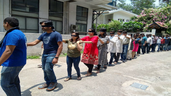 Hundreds to take part in Blind walk, to sensitise public on eye donation