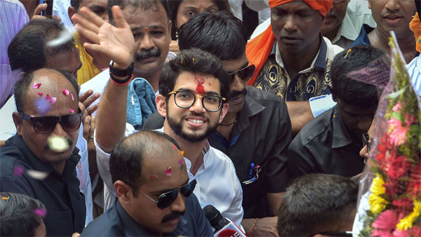 Son rise in Worli; Sena banks on Aaditya to widen base