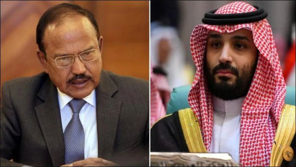 doval in saudi arabia, mohammad bin salman, ajit doval, national security advisor, saudi crown prince, host of regional issues, jammu and kashmir, abrogate article 370