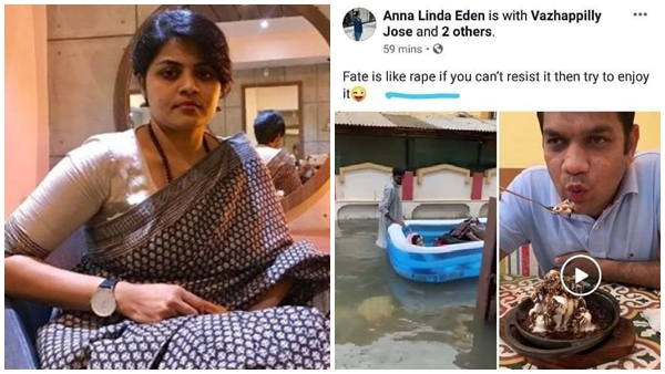 Fate is like rape, enjoy if you can't resist: Kerala MP's wife sparks controversy